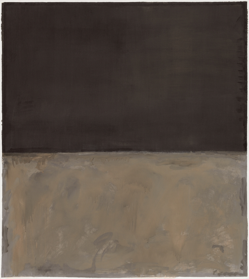 Mark Rothko, Untitled, 1969. [MFAH catalogue #60.]