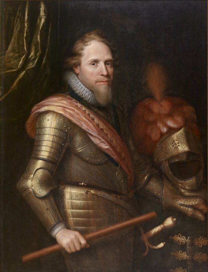 Michiel Janszoon Mierevelt, Maurits, Prince of Orange, 1607.
