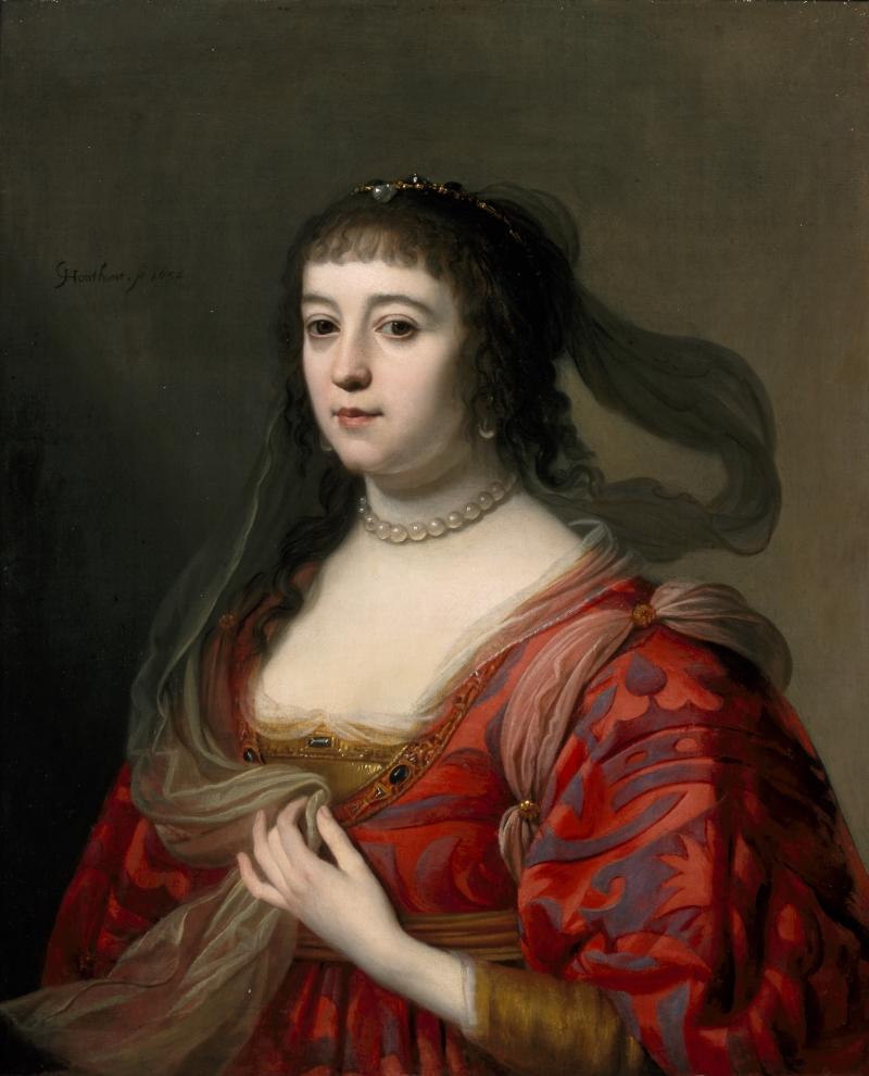 Gerrit van Honthorst, Amalia van Solms, 1632.