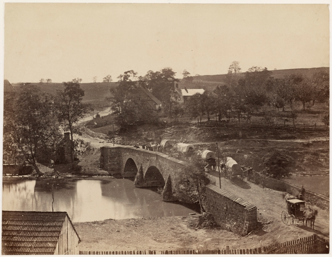 Alexander Gardner, Antietam Bridge, Maryland, 1862.