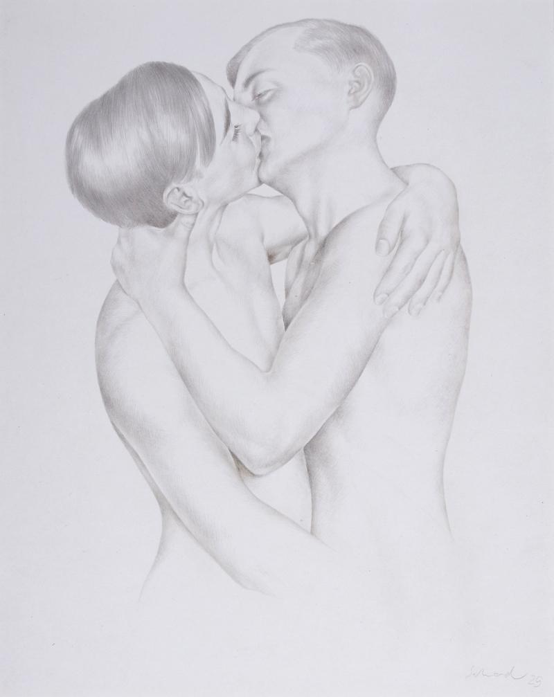 Christian Schad, Boys in Love, 1926.