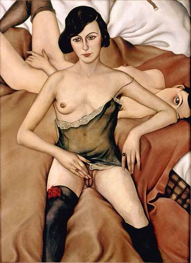 Christian Schad, Two Girls, 1928.