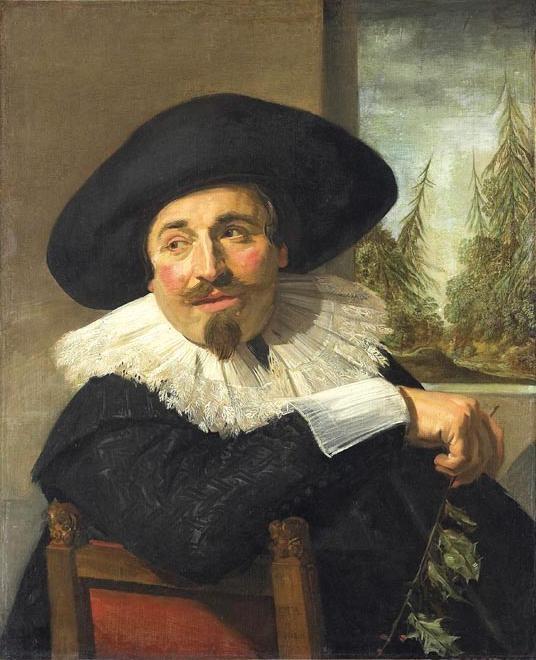 Frans Hals, Isaac Abrahamsz. Massa, 1626.