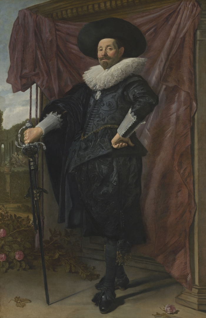 Frans Hals, Willem van Heythuysen, ca. 1625.