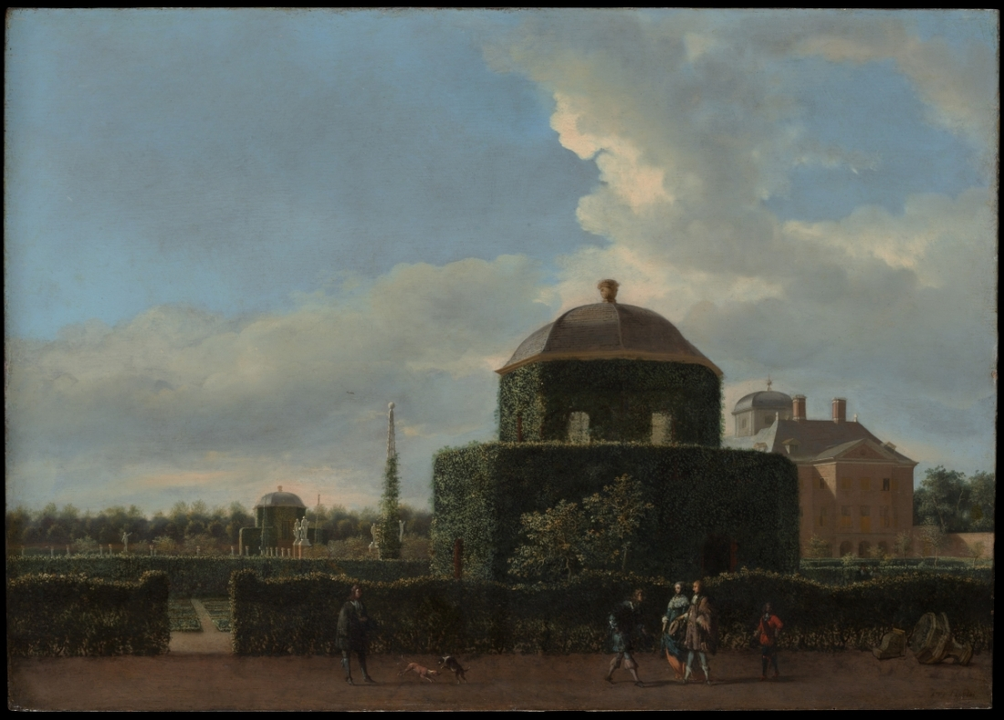 Jan van der Heyden, The Huis ten Bosch at The Hague and Its Formal Garden (View from the East), 1668-70.
