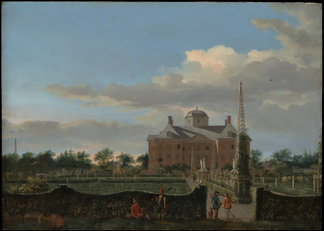 Jan van der Heyden, The Huis ten Bosch at The Hague and Its Formal Garden (View from the South), 1668-70.
