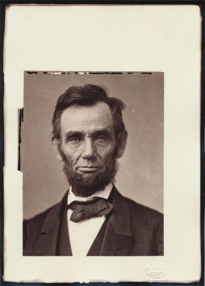 Alexander Gardner, Abraham Lincoln, 1863.