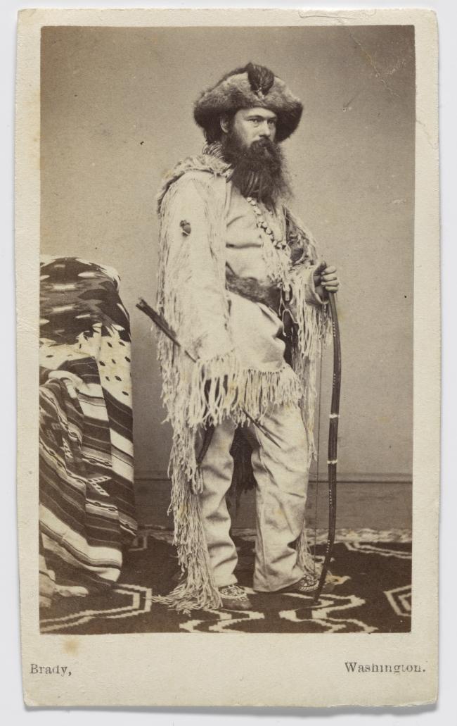 Alexander Gardner, Self-Portrait, c. 1861.