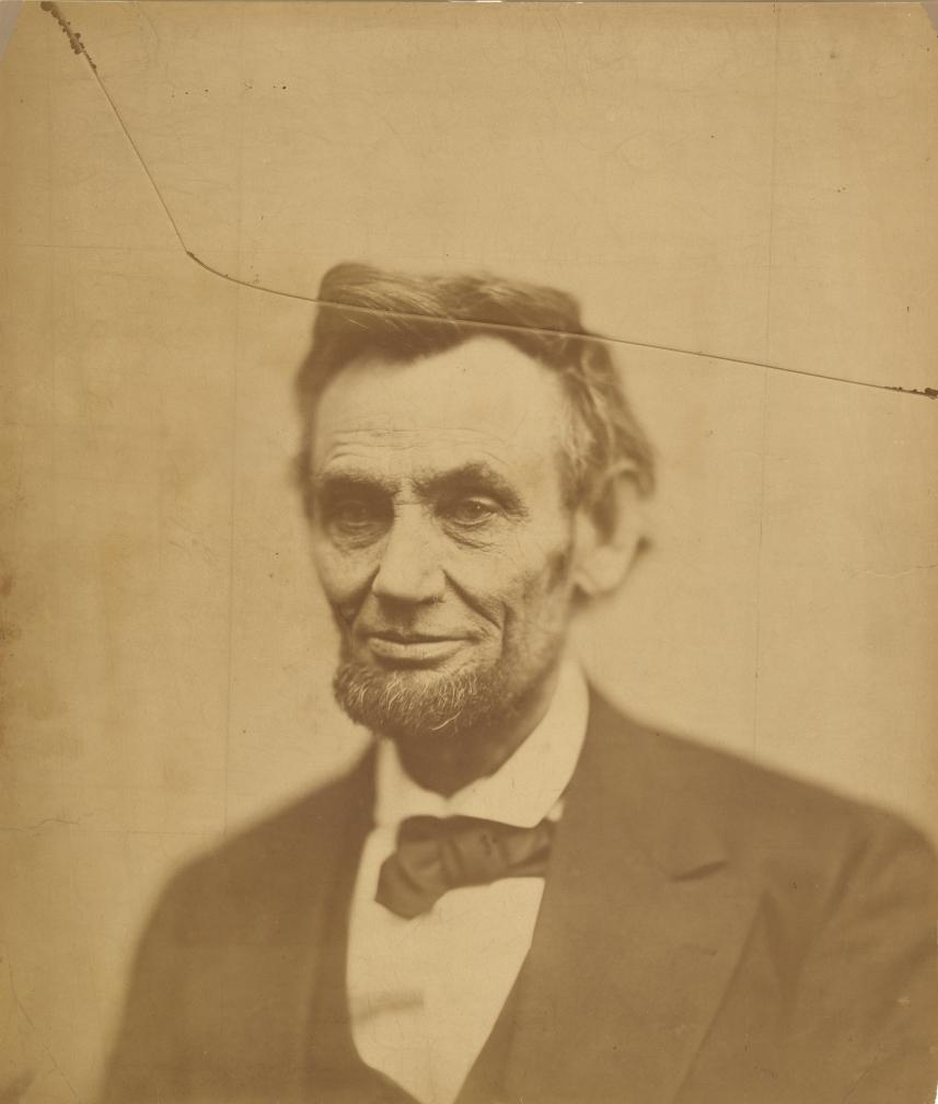 Alexander Gardner, Abraham Lincoln, 1865.