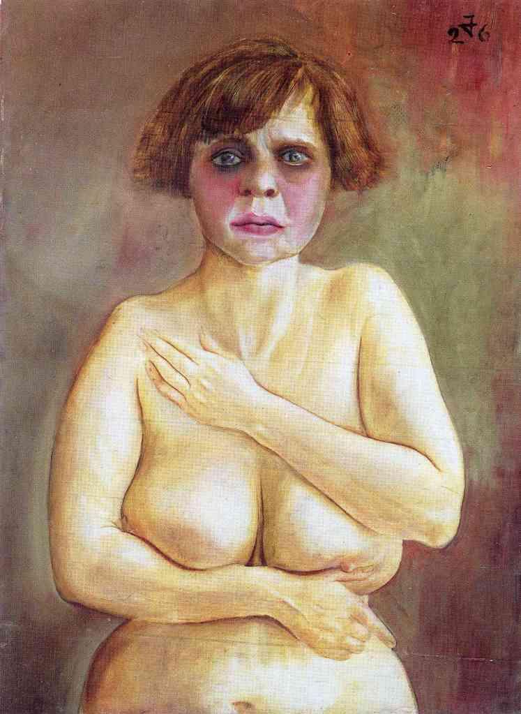 Otto Dix, Half-Nude, 1926.