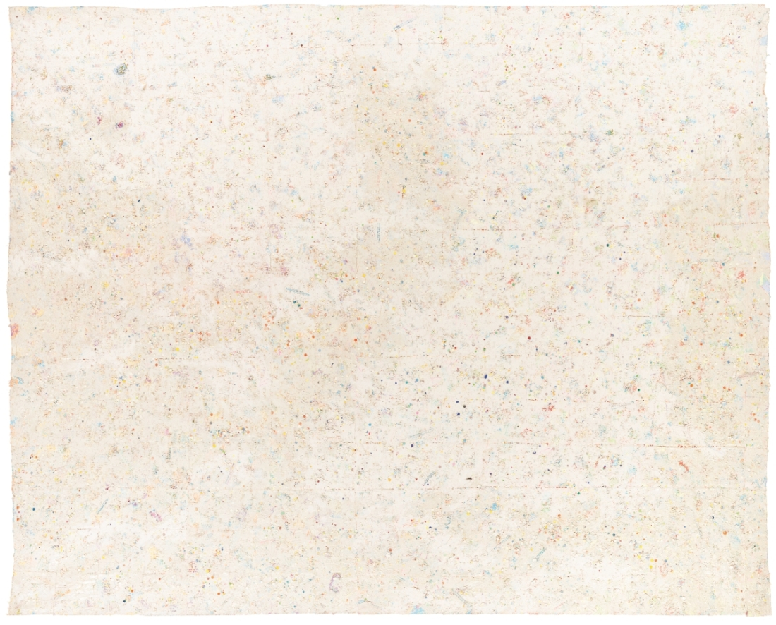 Howardena Pindell, Carnival at Ostende, 1977.