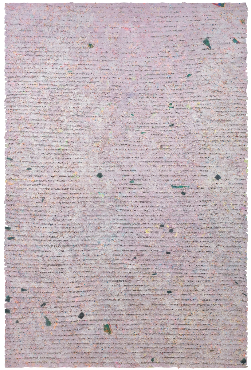 Howardena Pindell, Memory: Past, 1980-81.
