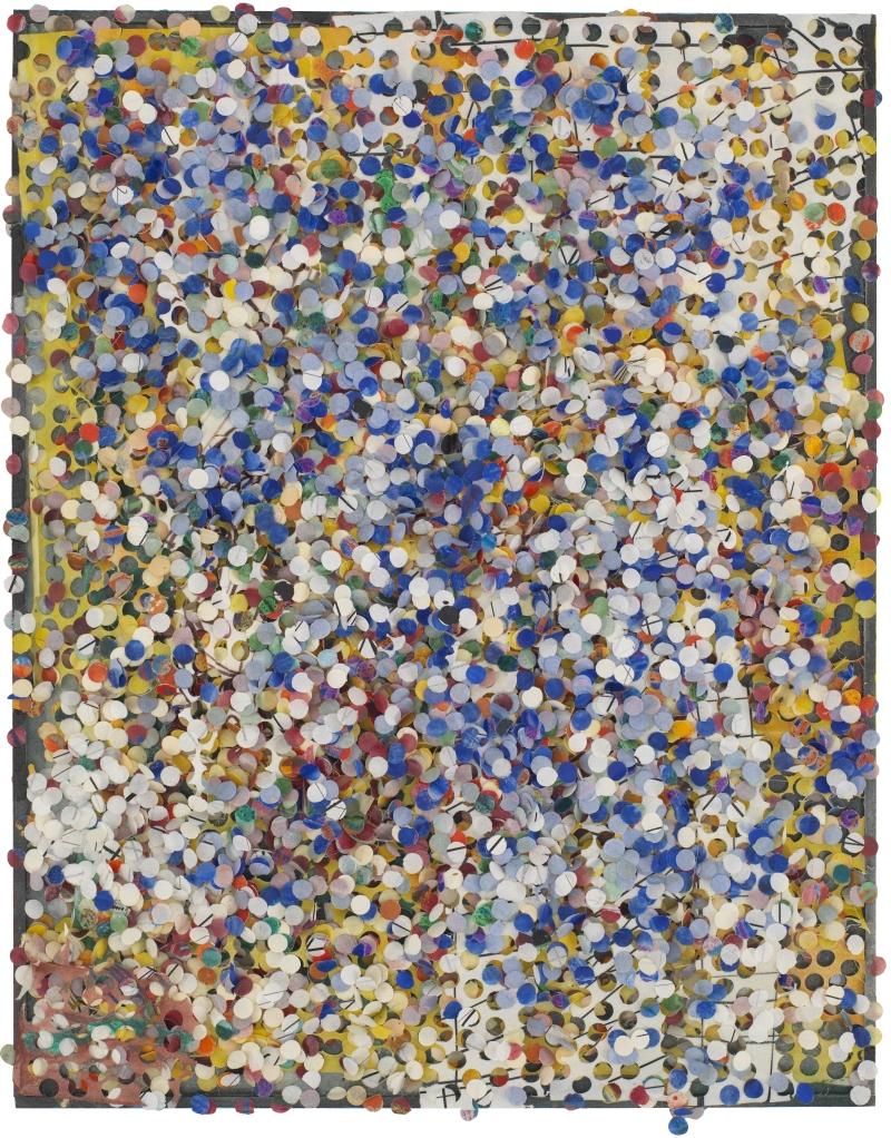 Howardena Pindell, Untitled, 1975.