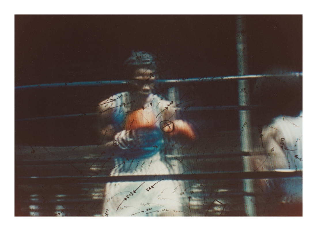 Howardena Pindell, Video Drawings: Boxing, 1976.