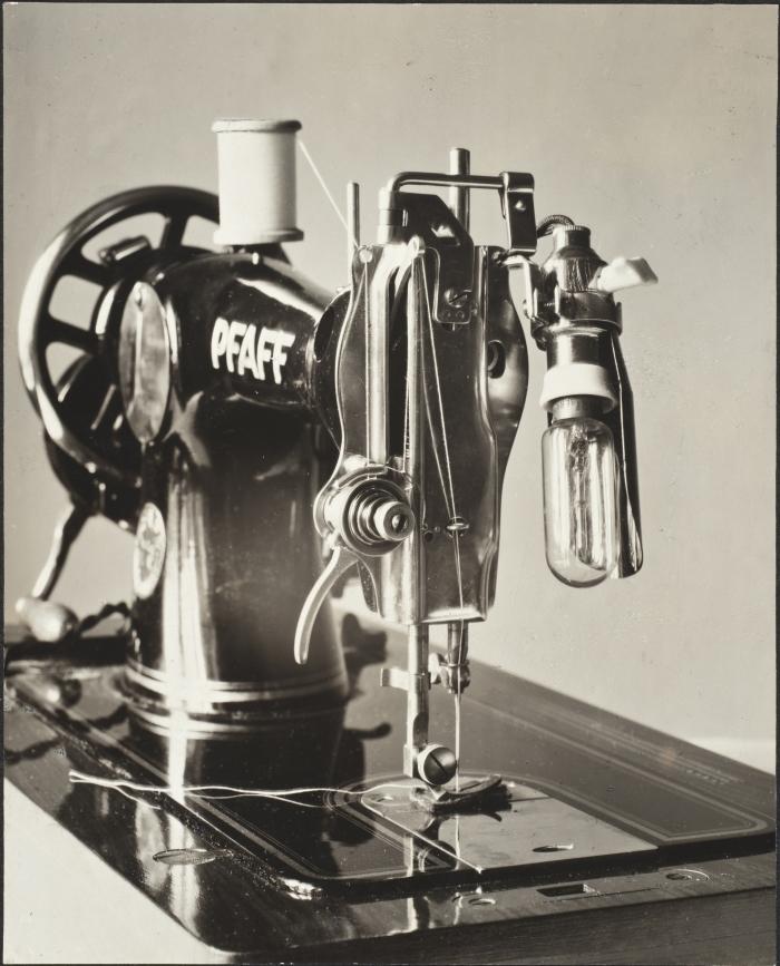 Wanda von Debschitz-Kunowski, Sewing Machine, ca. 1930.