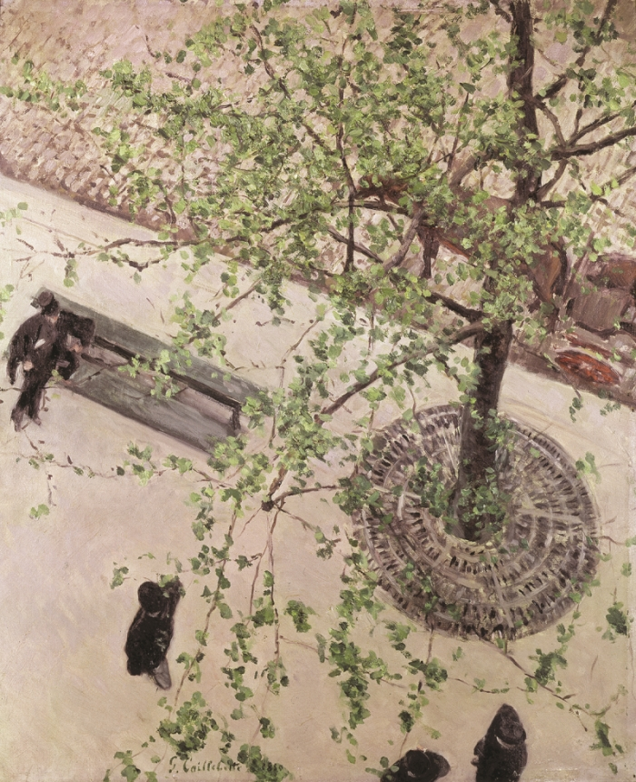 Gustave Caillebotte, The Boulevard Seen from Above, 1880.