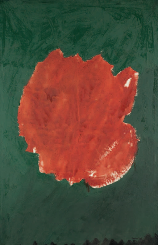 Paul Feeley, Red Blotch, 1954.