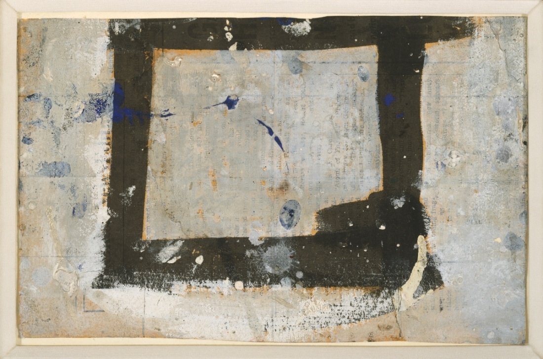 Franz Kline, Untitled (Study for Wotan), 1950.