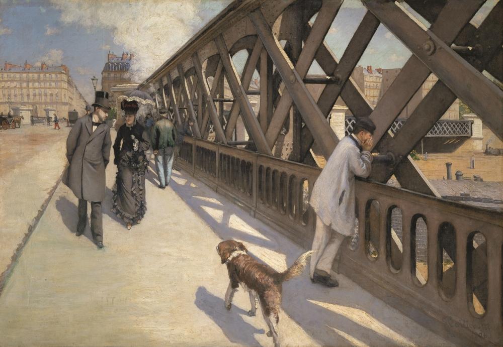 Gustave Caillebotte, Le Pont de l'Europe, Paris, 1876