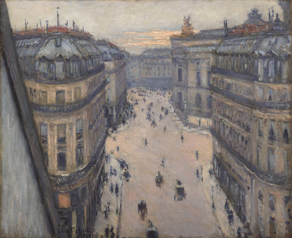 Gustave Caillebotte, The Rue Halevy, Seen from the Sixth Floor, 1878.