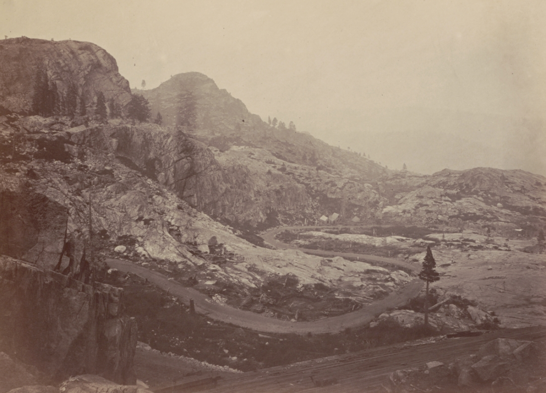 Timothy O'Sullivan, Donner Summit, 1867.