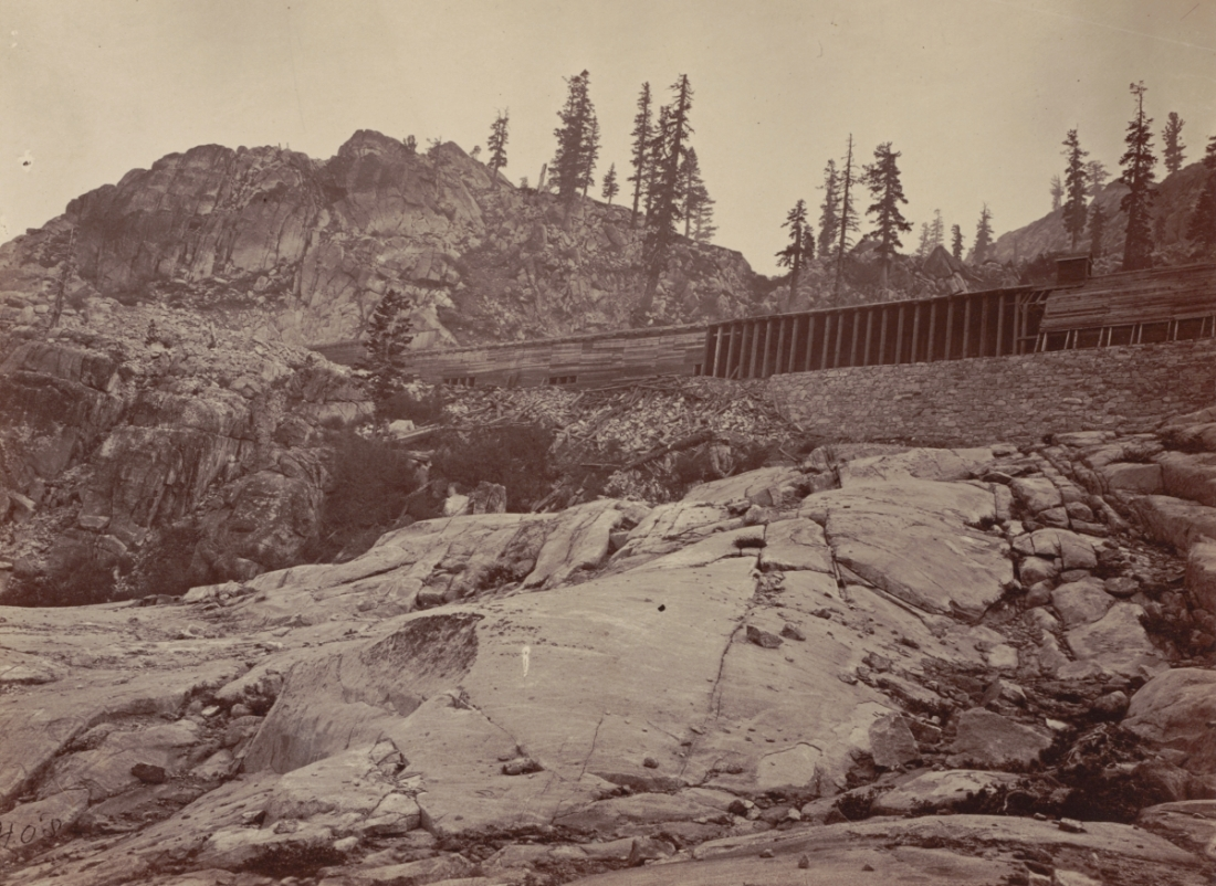 Timothy O'Sullivan, Donner Pass, 1867.