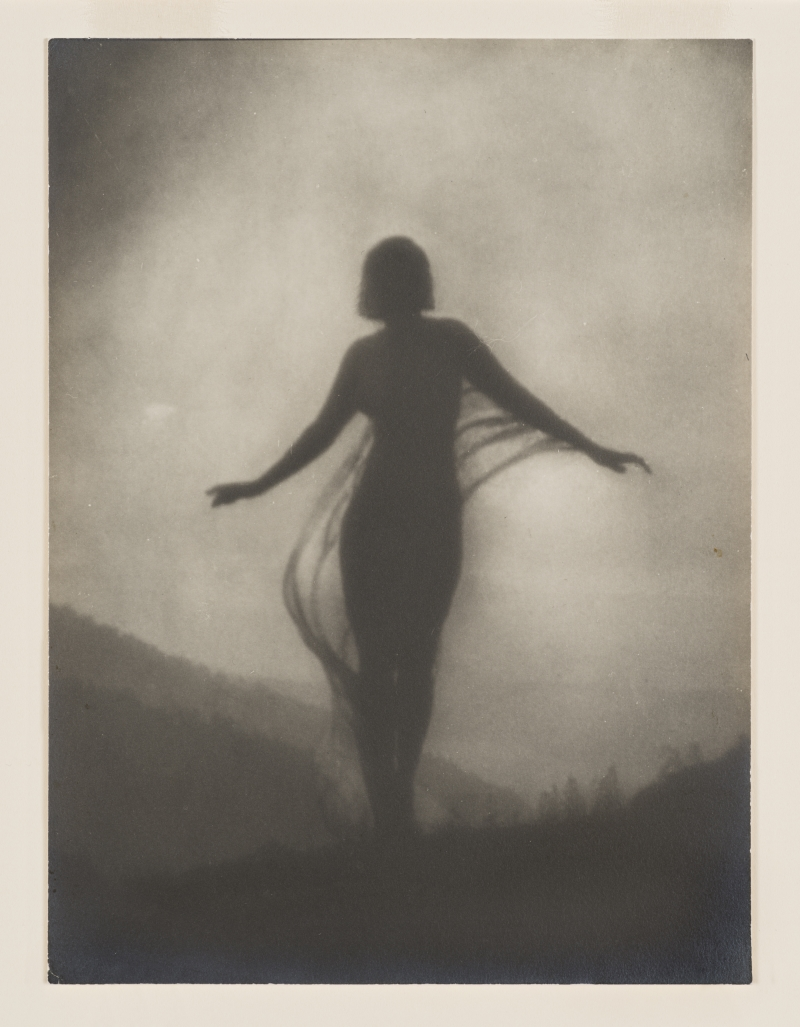 Anne Brigman, The Breeze, ca. 1910.