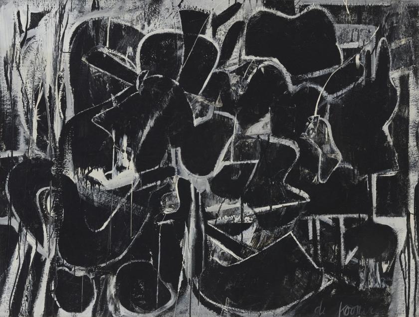 Willem de Kooning, Painting, 1948.