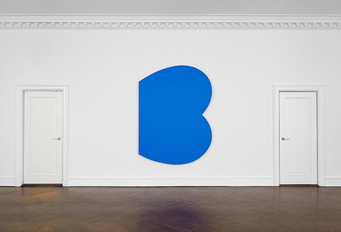 Ellsworth Kelly, Blue Curves, 2009.