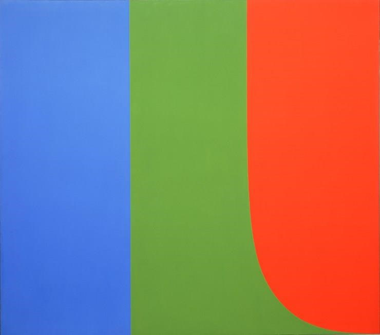 Ellsworth Kelly, Blue Green Red, 1964-65