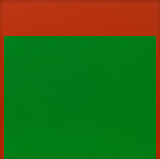 Ellsworth Kelly, Green, Red, 1965