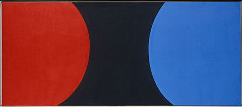 Ellsworth Kelly, Red Black Blue I, 1959