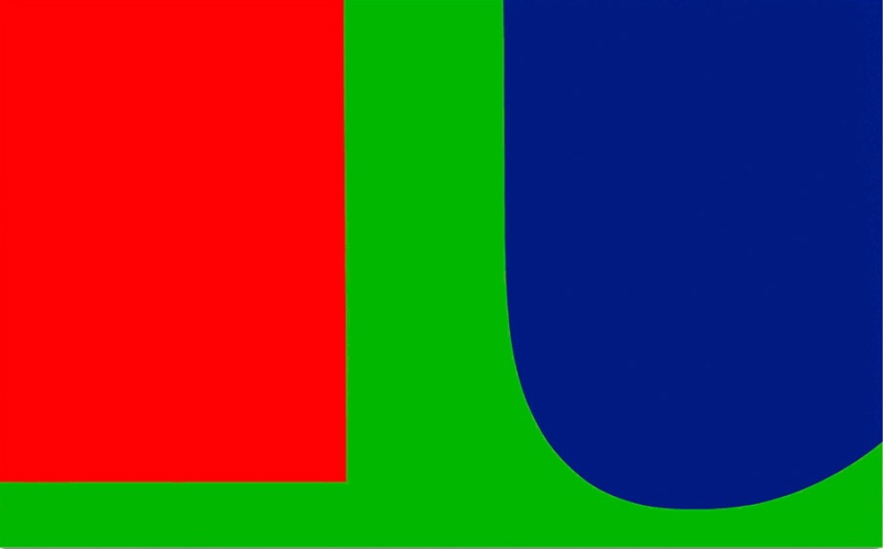 Ellsworth Kelly, Red Blue Green, 1963