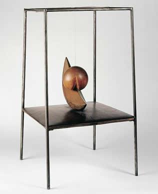 Alberto Giacometti, Suspended Ball, 1930-31.
