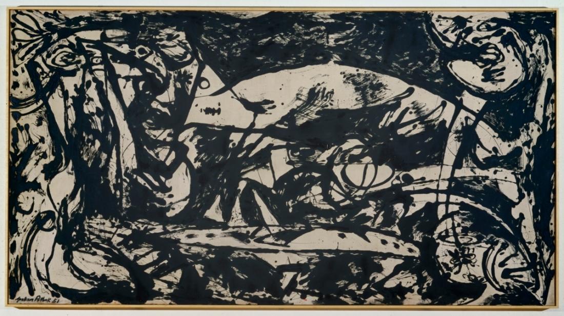 Jackson Pollock, Number 14, 1951.