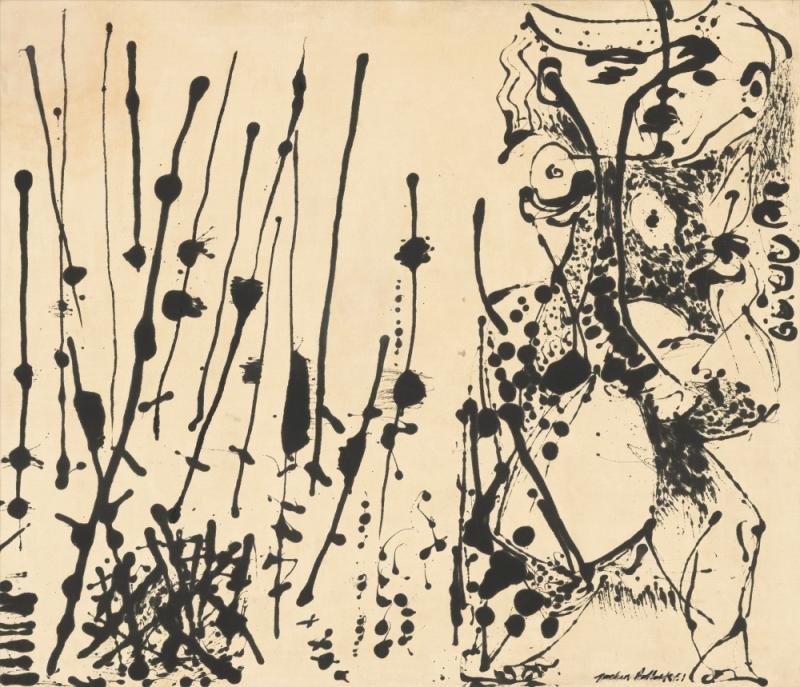Jackson Pollock, Number 7, 1951, 1951.