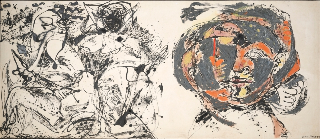 Jackson Pollock, Portrait and a Dream, 1953.