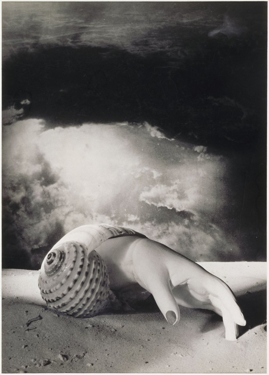 Dora Maar, Untitled (Hand-Shell), 1934.