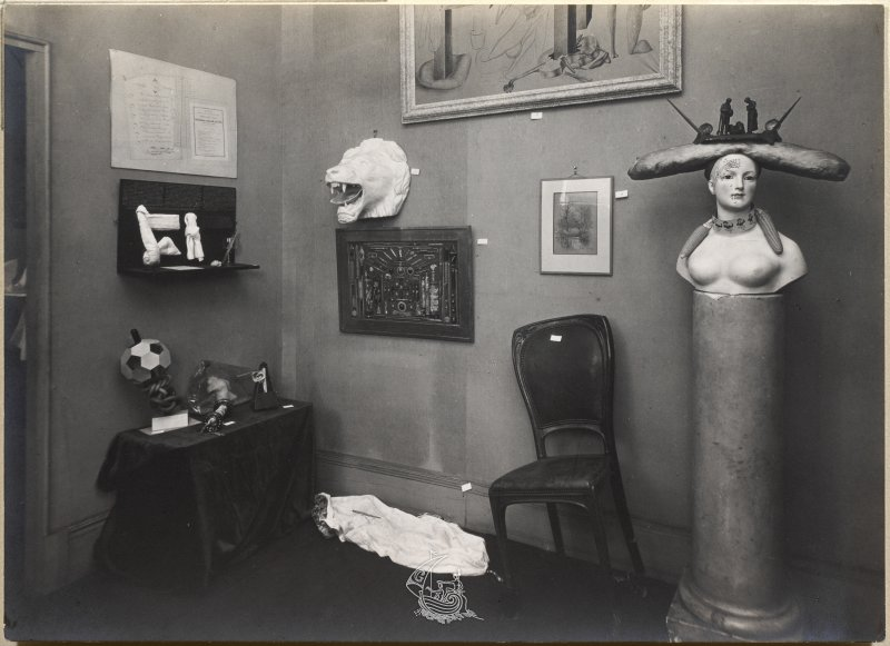 Man Ray, Surrealist Exhibition Galerie Pierre Colle, Paris, 1933, 1933.