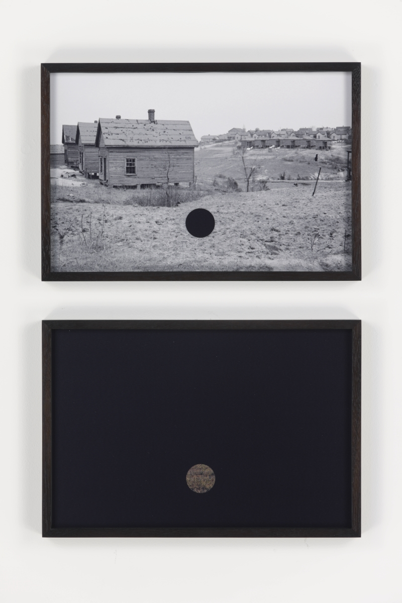 Lisa Oppenheim, Killed Negatives, After Walker Evans, 2015.