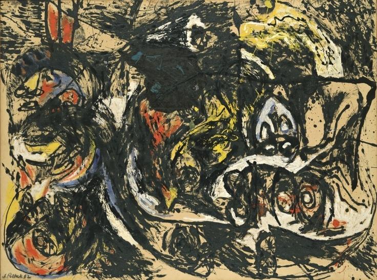 Jackson Pollock, Number 8, 1952, 1952.