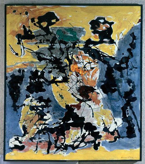 Jackson Pollock, Number 12, 1952, 1952.