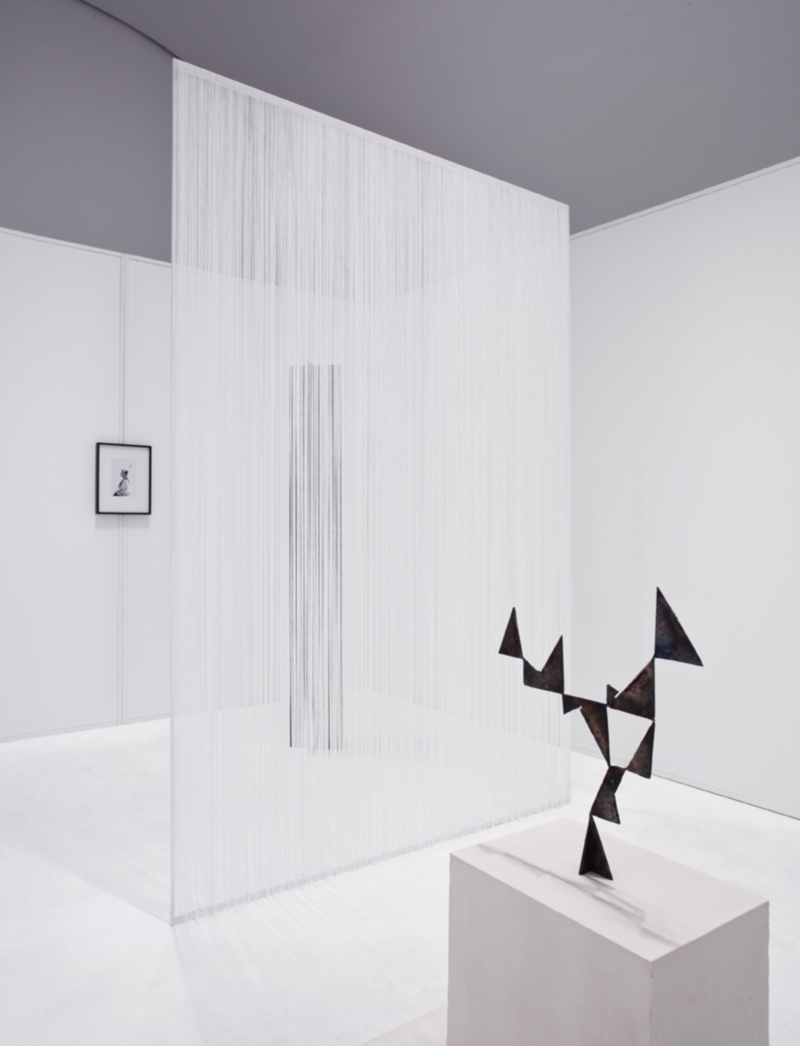 Sara VanDerBeek, installation at the Hammer Museum, 2011.