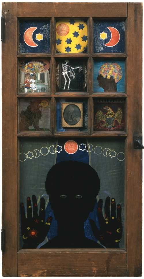 Betye Saar, Black Girl's Window, 1969.