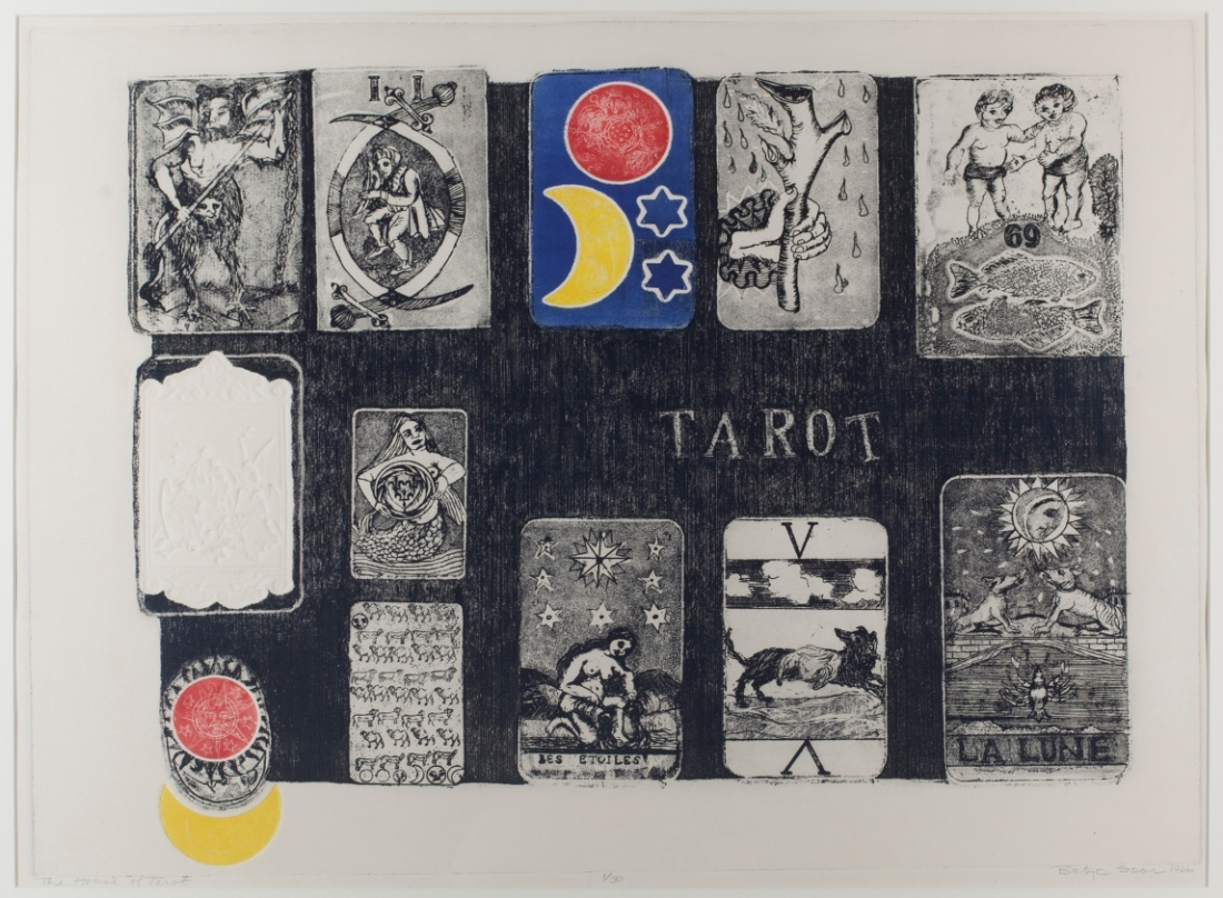 Betye Saar, The House of Tarot, 1966.