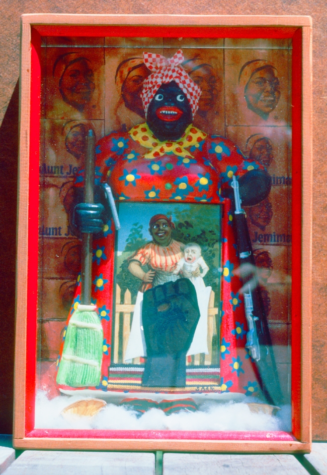 Betye Saar, Liberation and Aunt Jemima, 1972.