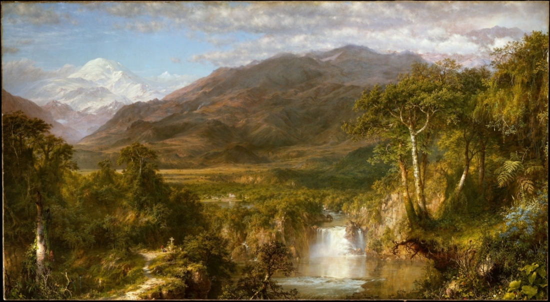 Frederic Edwin Church, Heart of the Andes, 1859.