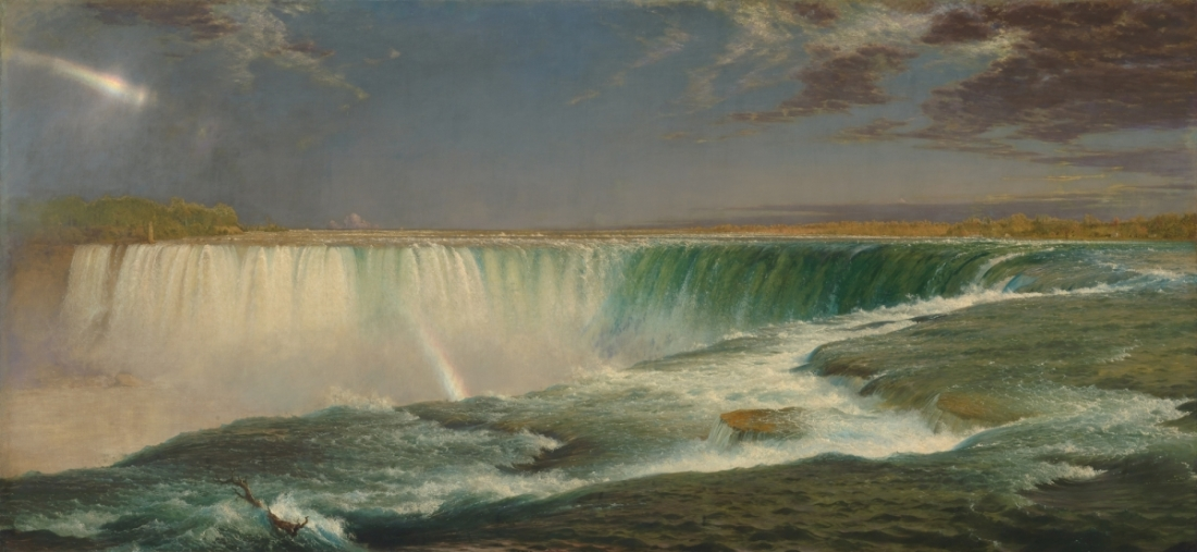Frederic Edwin Church, Niagara, 1857.