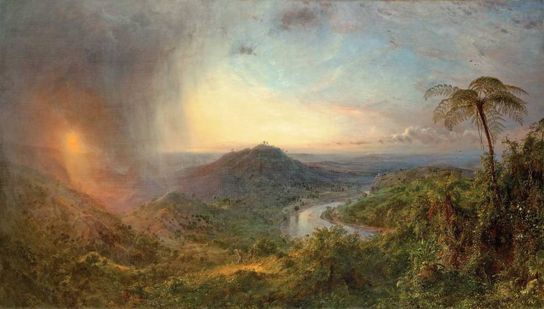 Frederic Edwin Church, Vale of St. Thomas, Jamaica, 1867.