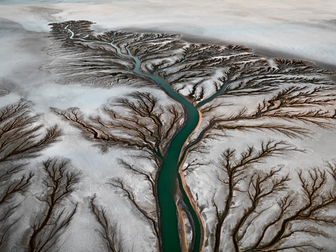 Edward Burtynsky, Colorado River Delta #2, Near San Felipe, Baja, Mexico, 2011.